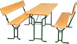 """Festzeltgarnitur """"Komfort"""" mit Tisch 220x70 cm"""