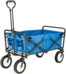 BayWa Bau- & Gartenmärkte Bollerwagen faltbar, 89x59x48 cm, blau blau