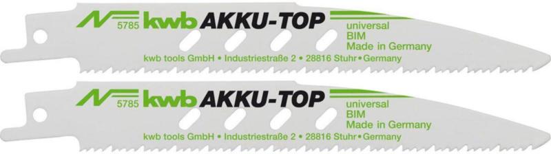 """Säbelsägeblatt """"AkkuTop"""", Metall"""