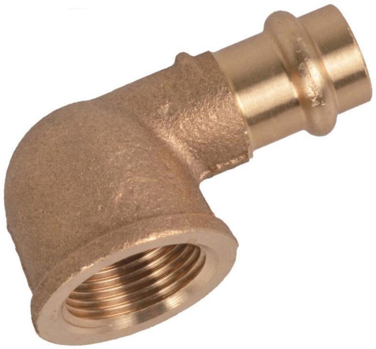 Übergangsstück, Pressfitting für Kupfer, 28 mmx1IG, C-Kontur 28x1 mm Zoll