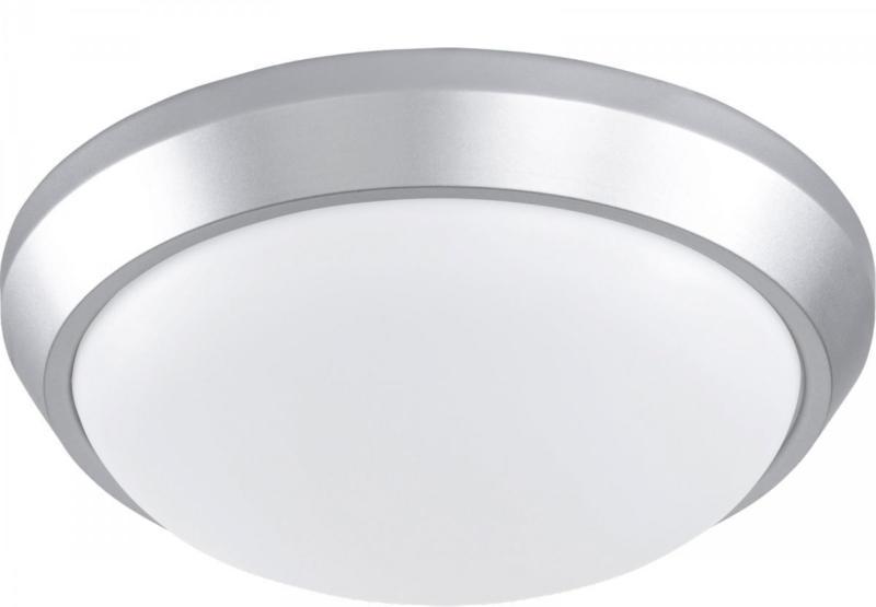 "LED-Deckenleuchte ""Sana"", Ø33cm, silber Ø33 cm"