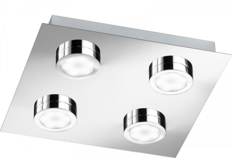 "LED-Deckenleuchte ""Veneta"", silber"