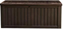 """Kissenbox """"Rockwood"""", 570 L, espresso-braun"""