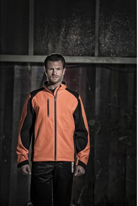 """Softshell Jacke """"Forst"""", orange, Gr.XL XL"""