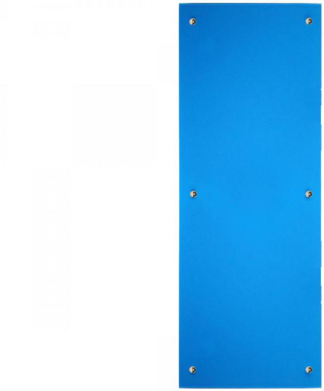 Infrarot Glasheizkörper, 45x120 cm, blau 45x120 cm