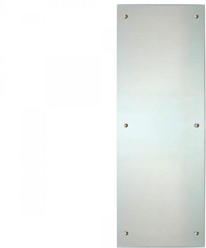 Infrarot Glasheizkörper, 45x120 cm, Spiegelheizung 45x120