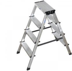 """Stufen-Doppelleiter """"Dopplo"""" 2x4 Stufen"""
