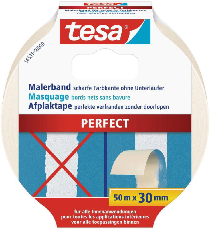 "Maler-Krepp ""Perfect"" 50 m, 30 mm 30 mm"