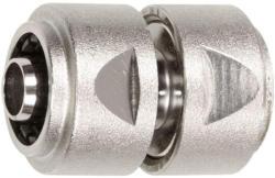 """Schlauchverbinder 3/4"""" 3/4"""" - 19mm MS Ni m. Spannmutter"""