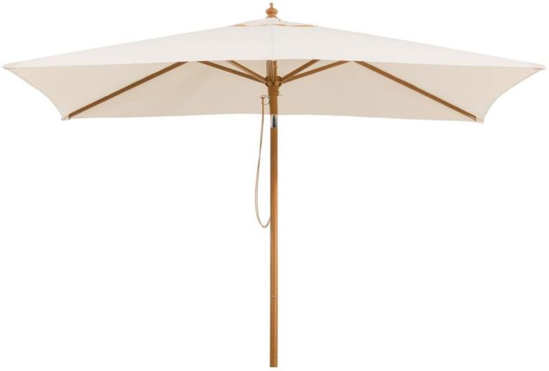 "Sonnenschirm ""Malaga"", 300x200 cm, natur, rechteckig Natur"