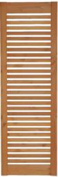"""Zaunserie """"Aalborg"""", Zwischenstück  60x180 cm, Douglasie, kirschbaumfarben lasiert"""