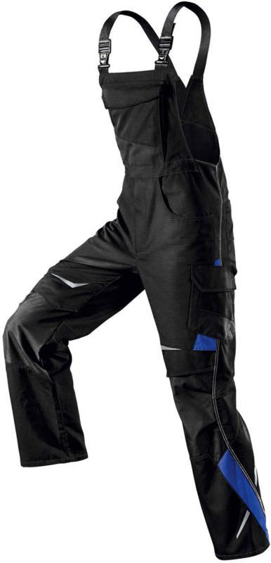 """Berufslatzhose """"Pulsschlag"""", schwarz-blau, Gr.60 schwarz   60"""
