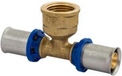 T-Übergangsstück, Pressfitting für Mehrschicht-Verbundrohr, 26 mmx3/4IGx26 mm 26x3/4 mm |