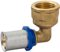 Übergangswinkel 90°, Pressfitting für Mehrschicht-Verbundrohr, 26 mmx3/4IG 26x3/4 mm