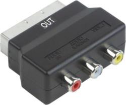 AV-Adapter schwarz