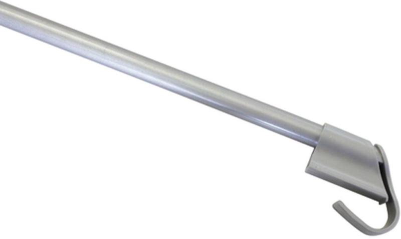 Klemmvitrage 75-125 cm Ø10/12 mm, silber