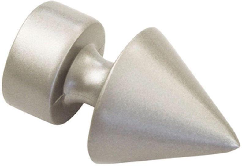 Endstück Spitze für Ø19 mm, silber-satin