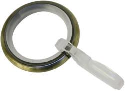 Gardinenringe für Ø16 mm, messing-antik