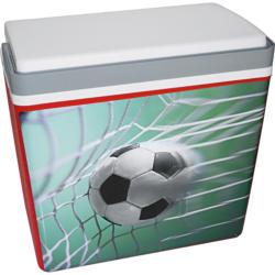 """Kühlbox """"Mirabelle"""", 24 Liter, mit Fußballmotiv"""