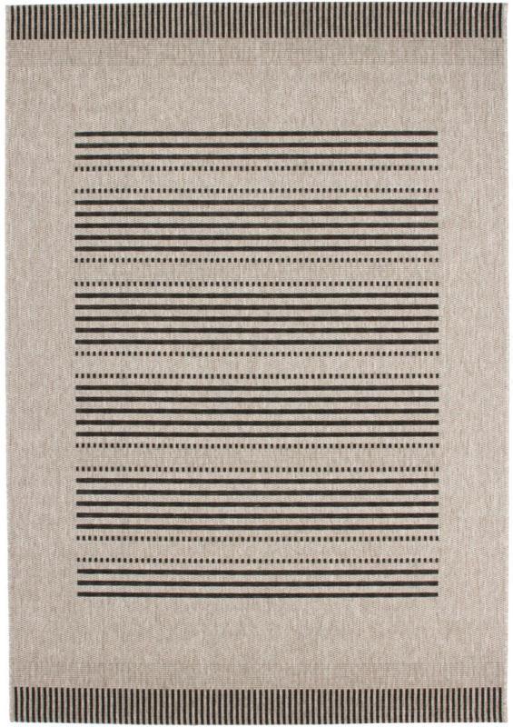"""Flachflorteppich """"Sweden"""" - Stockholm Silber, 80x150cm 80x150 cm"""