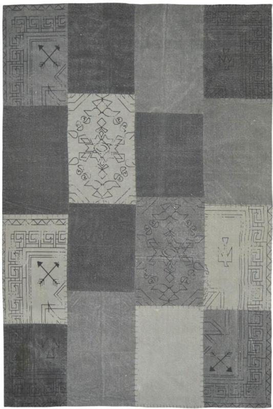 """Vintage-Teppich """"Lyrical 210"""" Multi/Grau, 80x150cm 80x150 cm"""