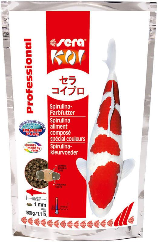 KOI Professional Spirulina-Farbfutter 500 g