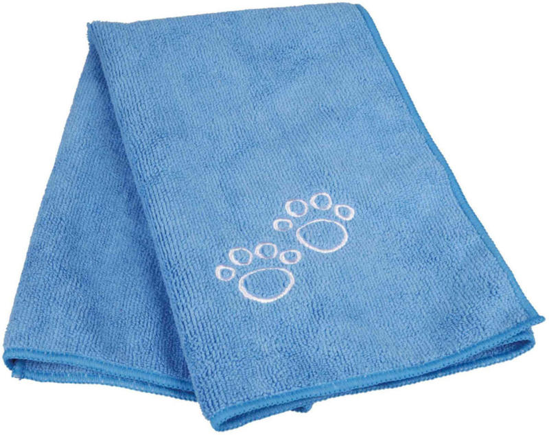 Dog Pflegehandtuch blau 50x60cm