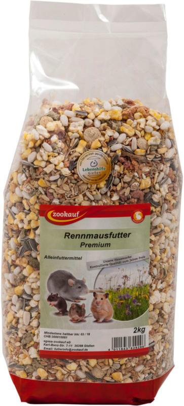 """NAGER Rennmaus-Futter """"Premium"""", 2kg"""