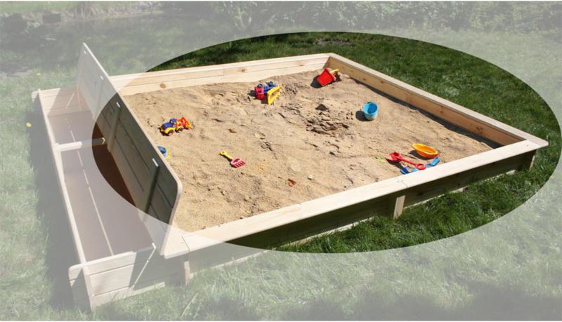"Sandkasten ""Yanick"""