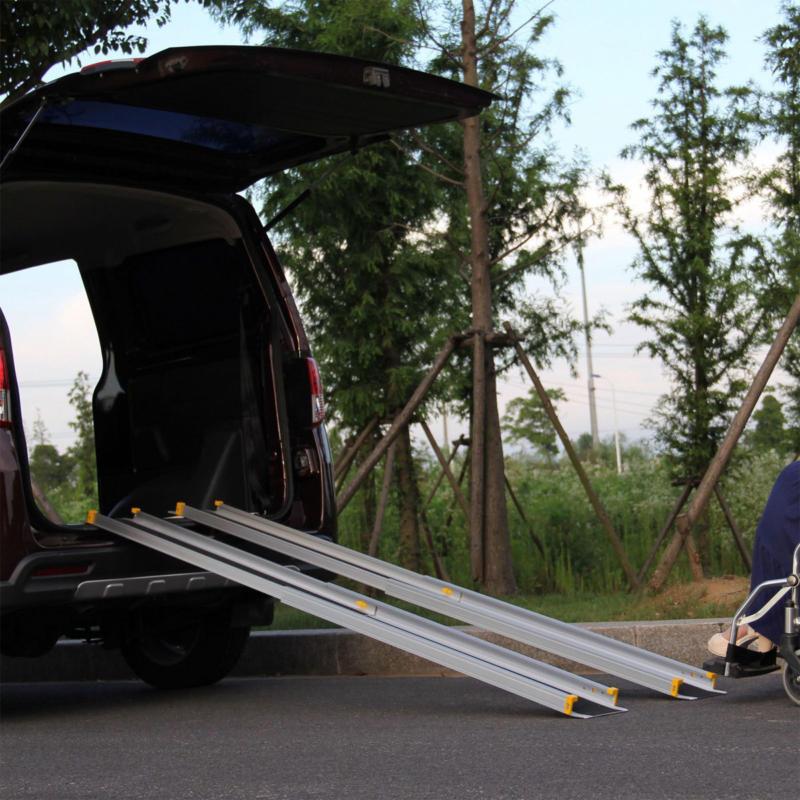 Universal Alu-Ladeschiene 152 cm, 2er-Set