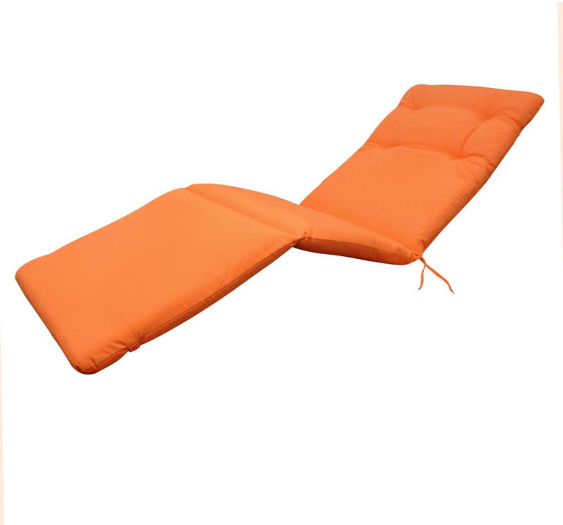 "Liegenauflage ""Relax"", Orange orange"