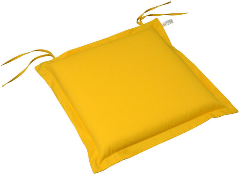 """Sitzkissen """"Premium"""", extra dick, Gelb 1x Polsterauflage"""