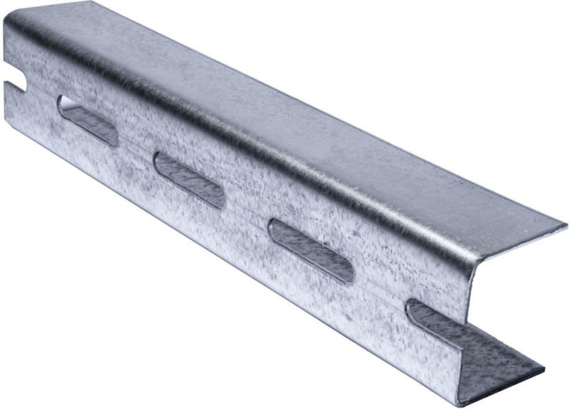 "Aussteifungsprofil ""UA 50"", 4 m, einreihige Lochung 2 mm 400"