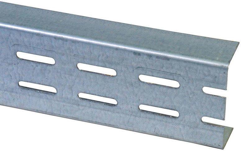 "Aussteifungsprofil ""UA 100"", 2,6 m, zweireihige Lochung 8,2x40 mm 260"