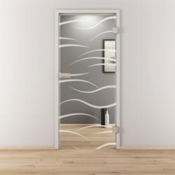 "Glasdrehtür ""NOVA 540"", klar, 95,9x197,2 cm, Rechts 95,9 cm | rechts"