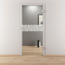 "Glasdrehtür ""NOVA 546"", klar, 95,9x197,2 cm, Rechts 95,9 cm | rechts"
