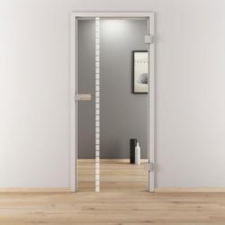 "Glasdrehtür ""NOVA 598"", klar, 95,9x197,2 cm, Rechts 95,9 cm | rechts"