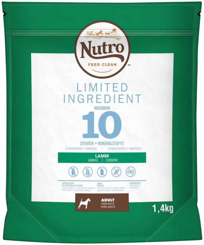 Nutro Limited Ingredient Lamm 1,4kg