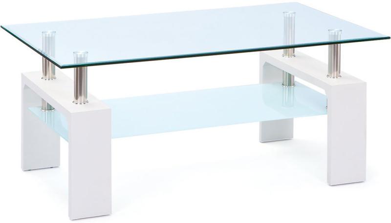 """Couchtisch """"Alva"""", weiß, 100x45x60 cm"""
