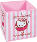 "HELLWEG Baumarkt Faltkiste ""Hello Kitty Ballerina"", 32x32x32 cm"