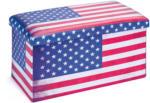 "HELLWEG Baumarkt Faltbox ""Setto"", 76x38x38 cm, Stars and Stripes"