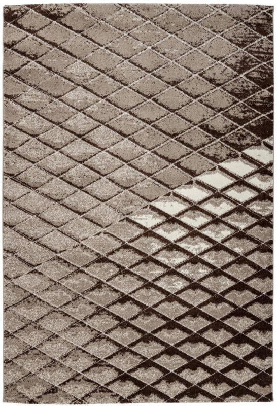 """Kurzflorteppich """"Broadway 800"""", braun 80x150 cm"""