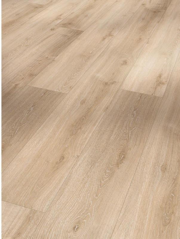 """Vinylboden """"Basic 300"""", Eiche Royal weiß gekälkt, Holzstruktur, 21,6x220 cm"""