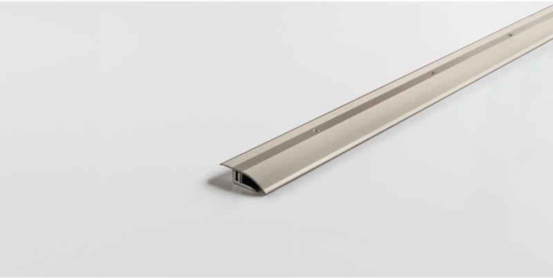 Anpassungsprofil für 7-15 mm, Aluminium, Edelstahl