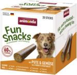 HELLWEG Baumarkt Snack Fun mit Pute+Gemüse 20 Sticks