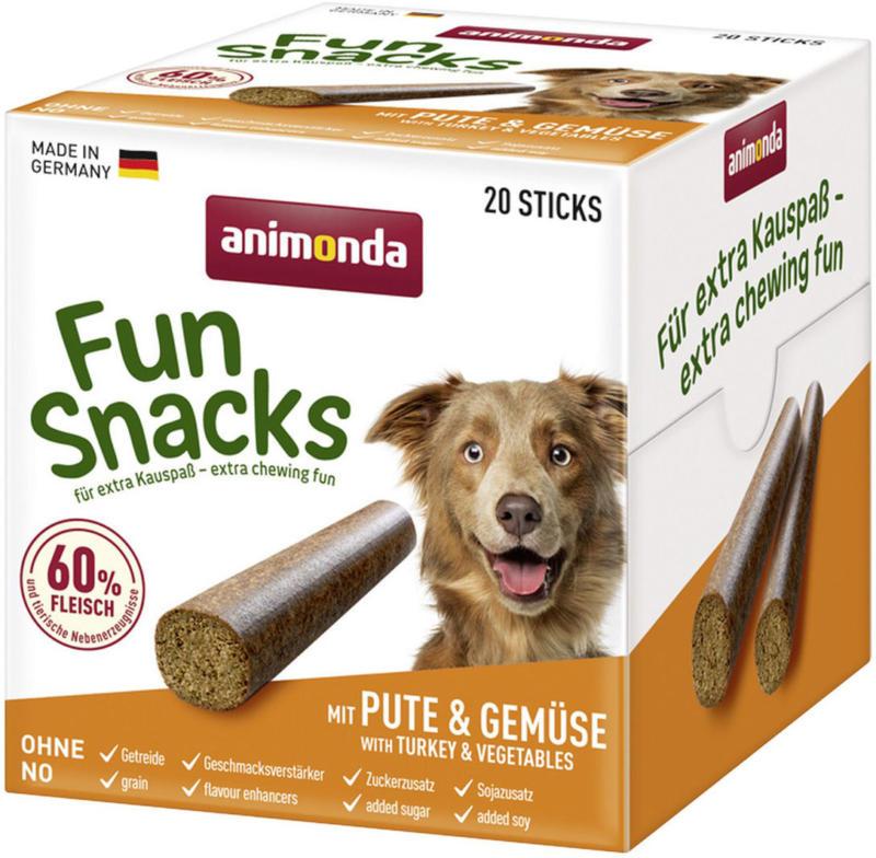 Snack Fun mit Pute+Gemüse 20 Sticks
