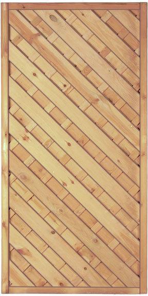 "Zaunserie ""Maxi-Diagonal"", grün, 90 x 180 cm"