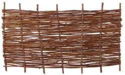 "Zaunserie ""PABLO"", Haselnusszaun, 180 x 90 cm"
