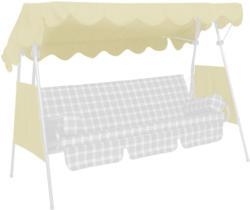 """Sonnendach """"Swingtex"""" 200x120 cm, elfenbein Elfenbein"""