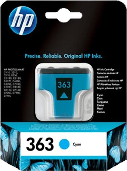 HP 363 Tintenpatrone Cyan (C8771EE)